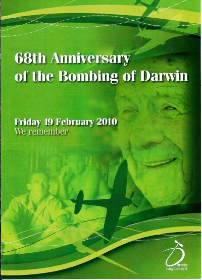 68th Anniversary of The Bombing of Darwin