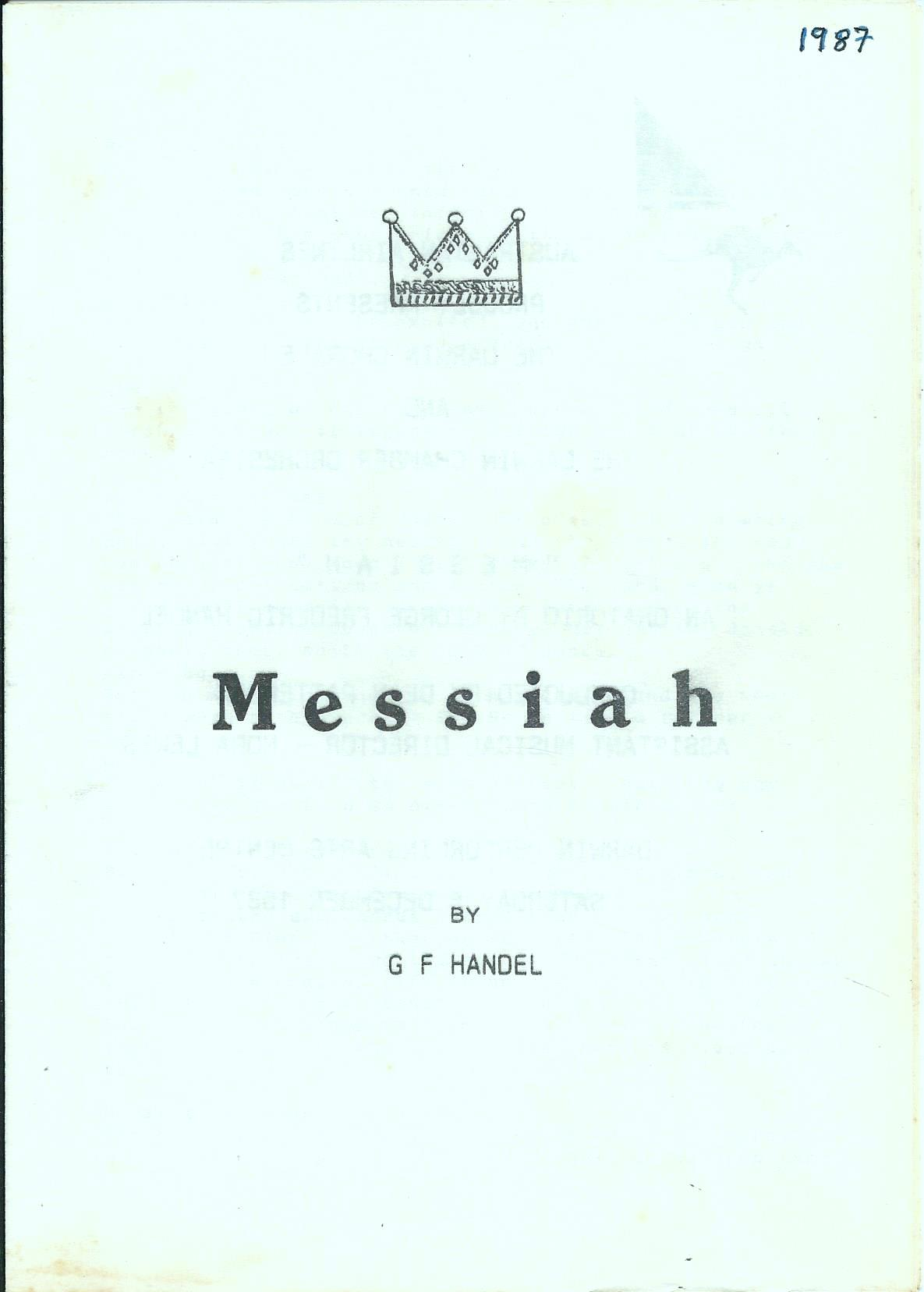 Messiah 1987