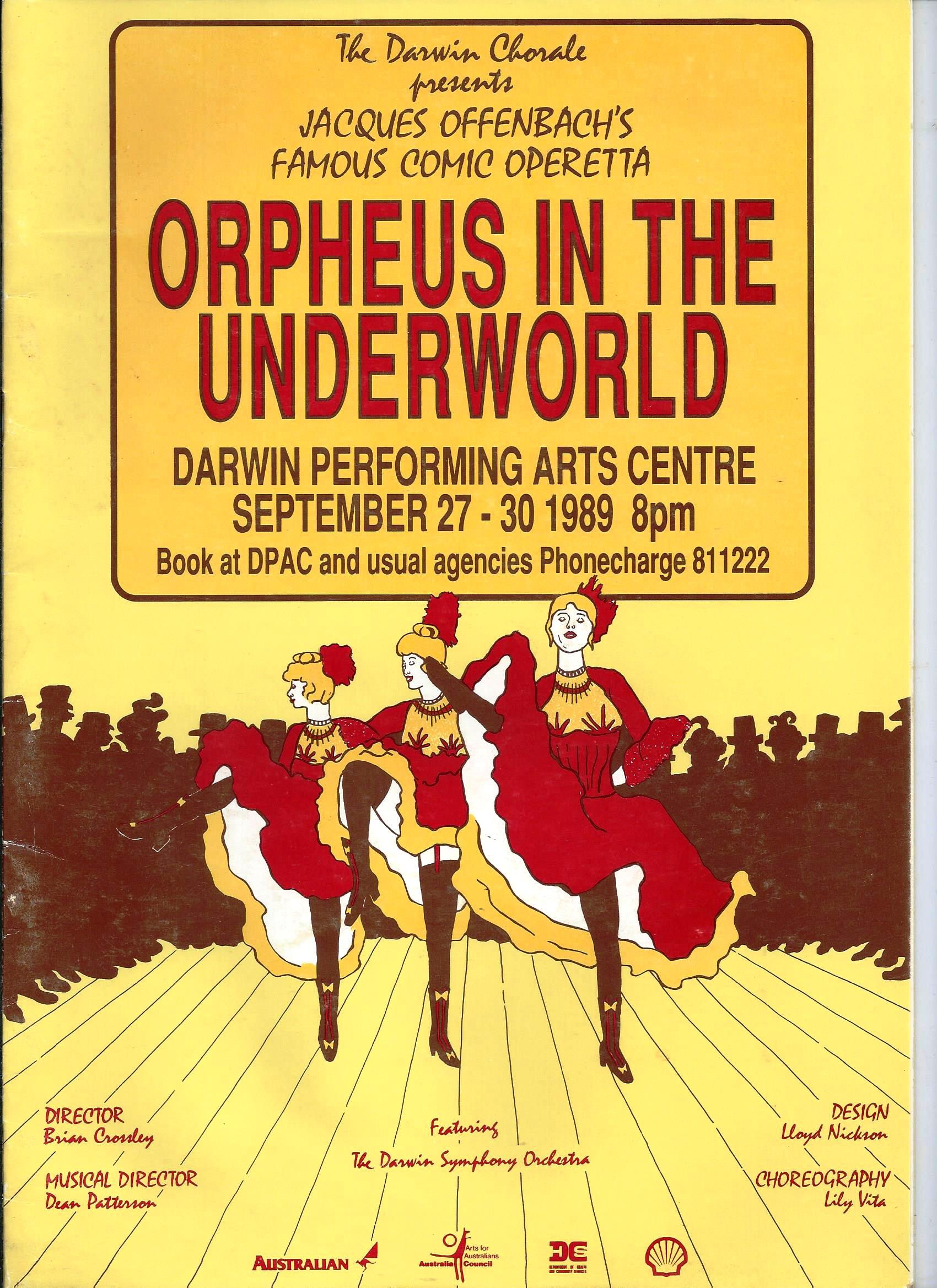 Orpheus in the Underworld 1989