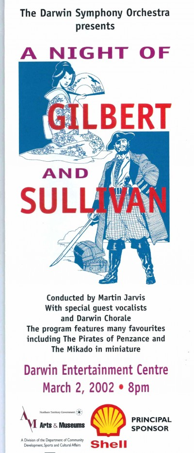 A Night of Gilbert and Sullivan