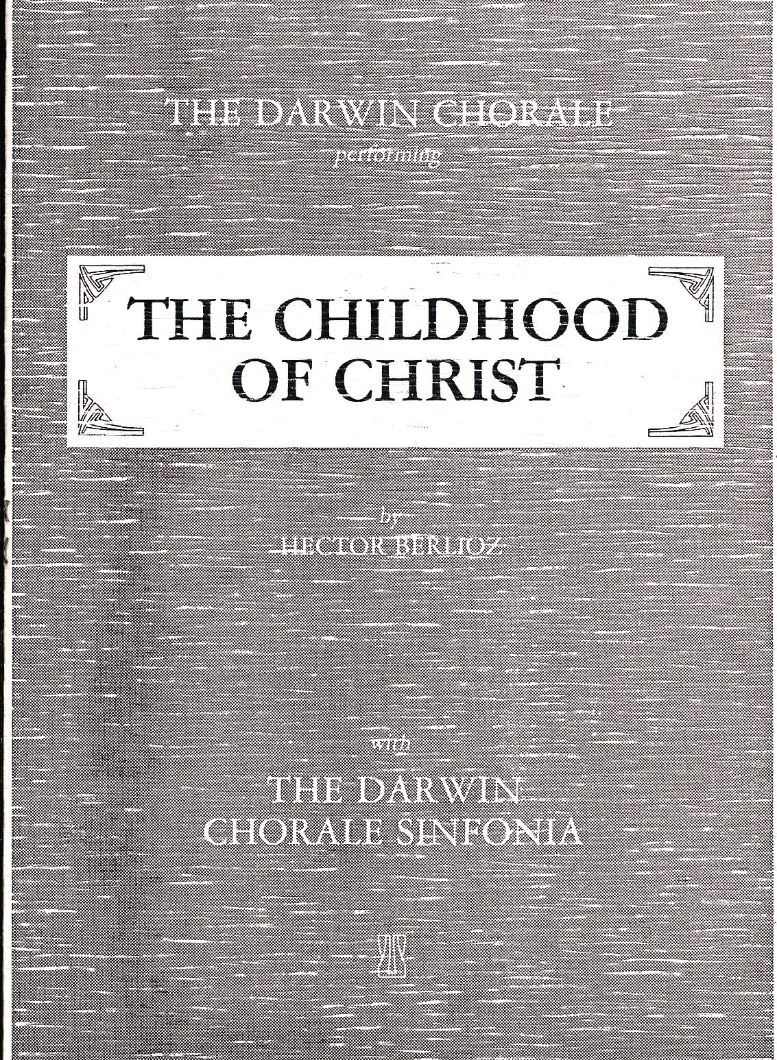The Childhood of Christ 1986