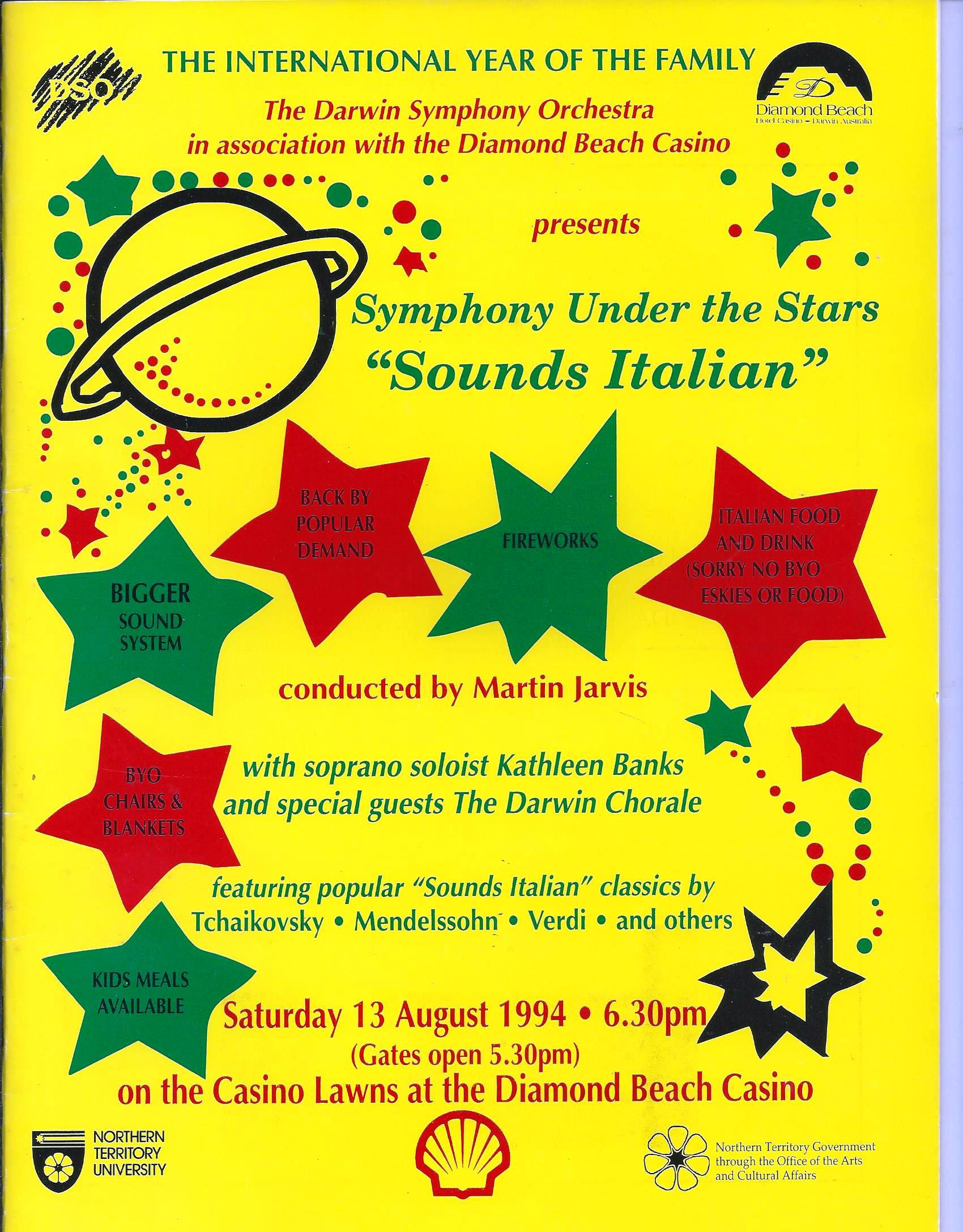 Symphony Under the Stars-Sounds Italian