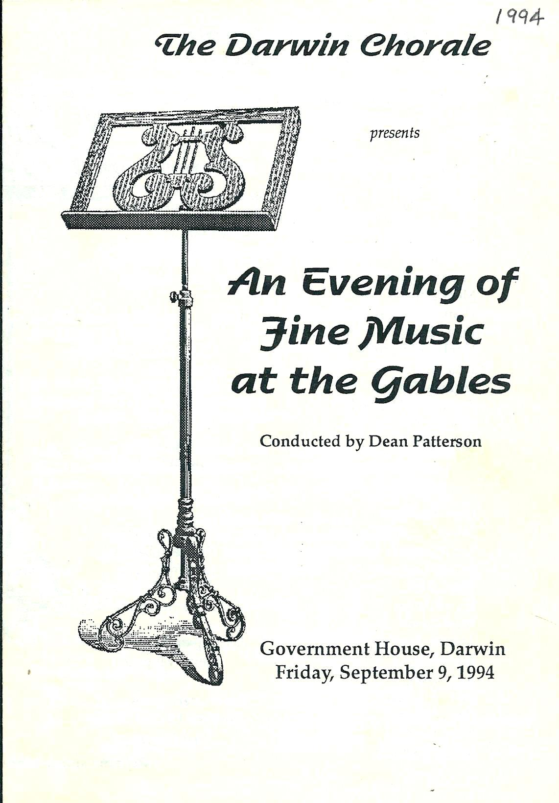 An Evening of Fine Music at the Gables