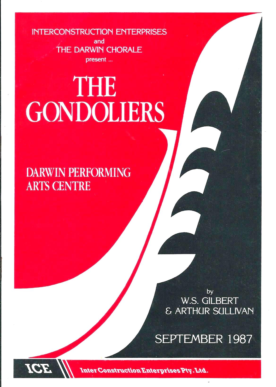 The Gondoliers 1987