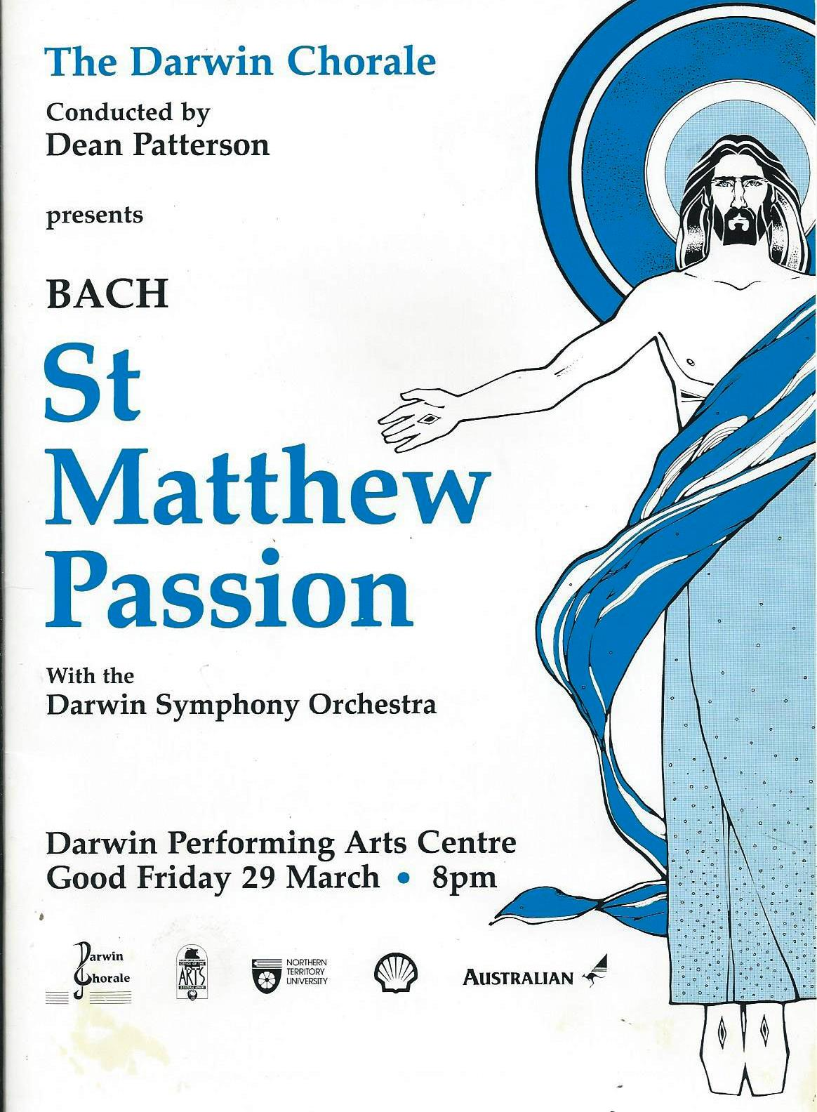 St Matthew Passion 1991