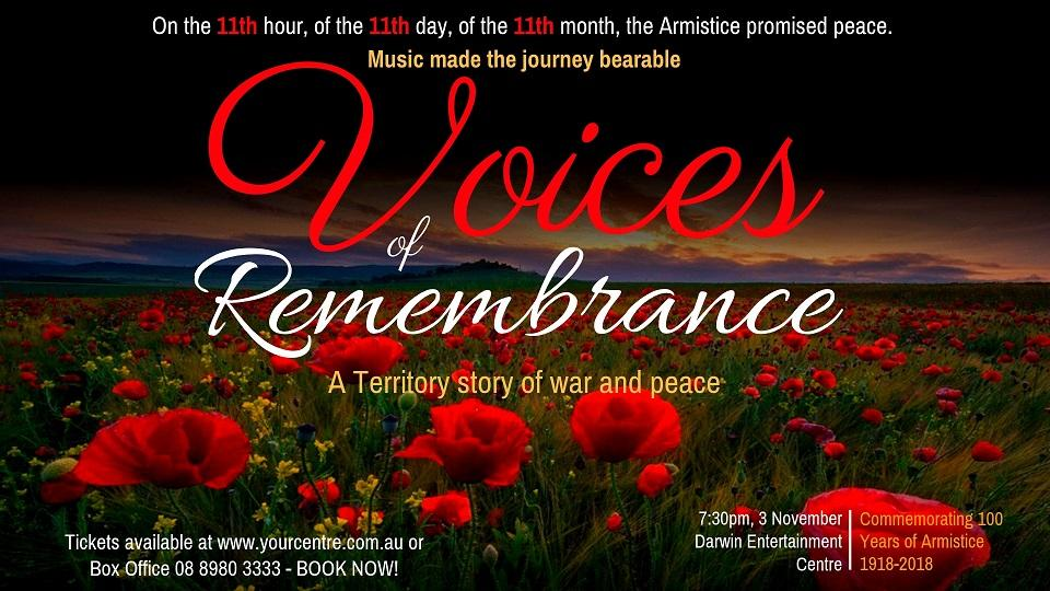 Voices of Remembrance: A Territory Story of War and Peace